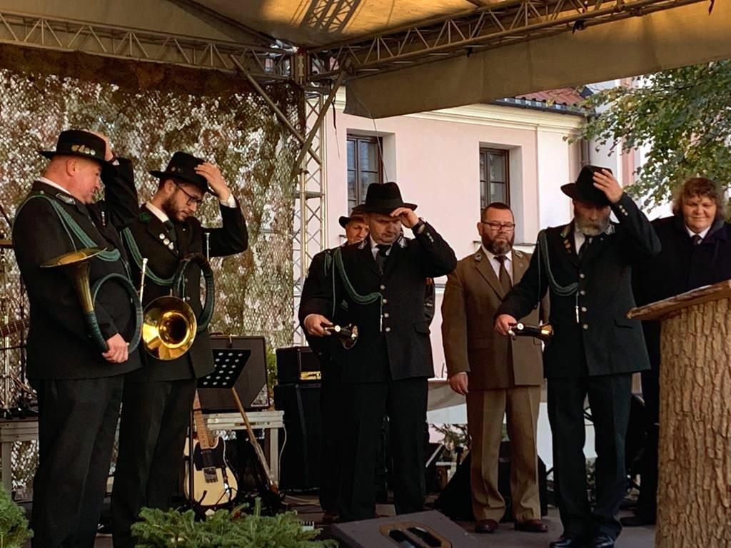 XX Kresowy Konkurs Sygnalistów Myśliwskich w Zamościu.
